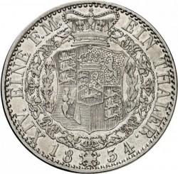Монета > 1талер, 1834 - Хановер  (Coat of arms on reverse) - reverse