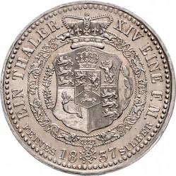 Moneta > 1thaler, 1835-1837 - Hanower  - reverse