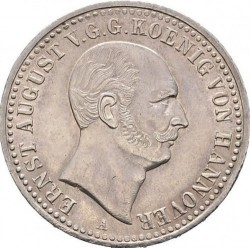 Moneta > 1thaler, 1838-1840 - Hanower  - obverse