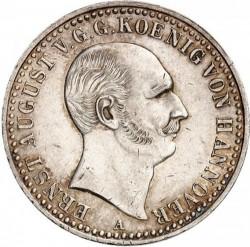 Moneda > 1taler, 1838-1840 - Hannover  - obverse