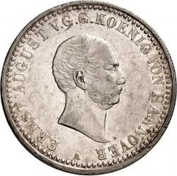 Moneda > 1taler, 1838 - Hannover  (Cabeza pequeña) - obverse