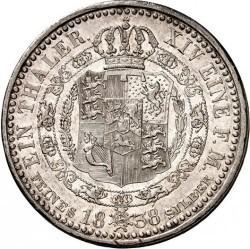 Moneda > 1taler, 1838 - Hannover  (Cabeza pequeña) - reverse