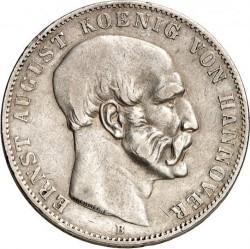 Moneta > 1thaler, 1849-1851 - Hanower  - obverse