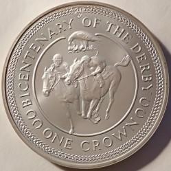 Монета > 1крона, 1980 - Остров Мэн  (200 лет скаковых Дерби) - reverse