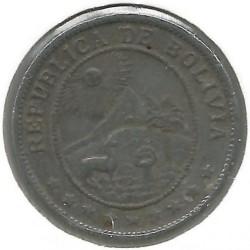 Mynt > 20centavos, 1942 - Bolivia  - obverse