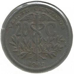 Mynt > 20centavos, 1942 - Bolivia  - reverse