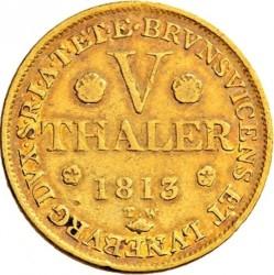 Moneta > 5talarów, 1813-1815 - Hanower  - reverse