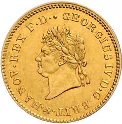 Moneta > 5talarów, 1821-1830 - Hanower  - obverse