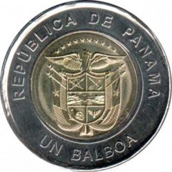 Moneta > 1balboa, 2019 - Panama  (Kościół św. Franciszka z Asyżu) - obverse
