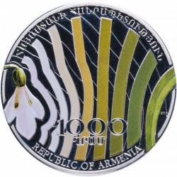 Moneda > 1000dram, 2010 - Armenia  (Plantas - Galanthus artjuschenkoae) - obverse