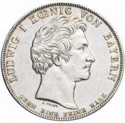 Moneta > 1talar, 1830 - Bawaria  (Loyalty of Bavarians to Royal Family) - obverse