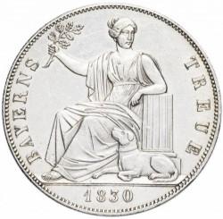 Moneta > 1talar, 1830 - Bawaria  (Loyalty of Bavarians to Royal Family) - reverse