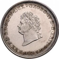 Moneta > ⅔thaler, 1826-1828 - Hanower  - obverse