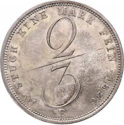 Moneta > ⅔thaler, 1826-1828 - Hanower  - reverse