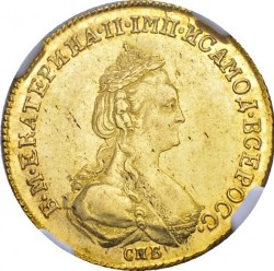 Münze > 5Rubel, 1778-1782 - Russland  - obverse