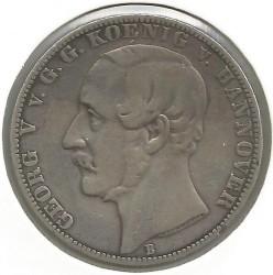 Moneda > 1vereinsthaler, 1857-1866 - Hannover  - reverse