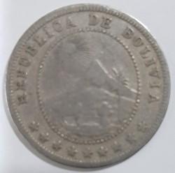 Münze > 5Centavos, 1907 - Bolivien  - obverse
