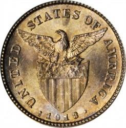 Νόμισμα > 20Σεντάβος, 1918 - Φιλιππίνες  - obverse