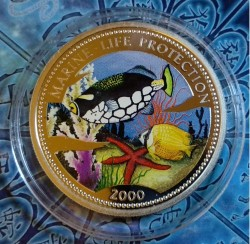 Coin > 10 francs, 2000 - Congo - DRC  (Marine Life Protection) - obverse