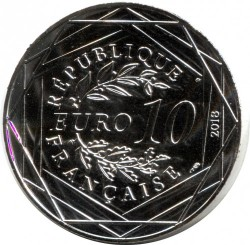 Moneta > 10euro, 2018 - Francia  (Loire) - reverse