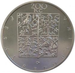 Монета > 200крон, 1998 - Чехия  (200 лет со дня рождения Франтишека Палацкого) - obverse
