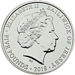 Монета > 5фунтов, 2018 - Джерси  (День памяти) - obverse