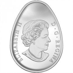 Moneda > 20dólares, 2016 - Canadá  (Traditional Ukrainian Pysanka) - obverse