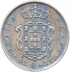 Кованица > 10реиса, 1840-1853 - Португал  - obverse