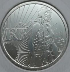 Moneda > 5euros, 2008 - Francia  (Sembradora) - reverse