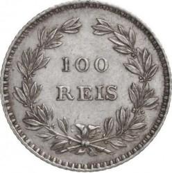 Монета > 100рейса, 1853 - Португалия  - reverse