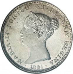 Монета > 500рейса, 1837-1853 - Португалия  - obverse