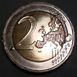 Coin > 2euro, 2018 - Greece  (70th Anniversary - Union of the Dodecanese With Greece) - obverse