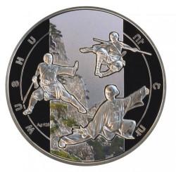 Moneda > 1000dram, 2011 - Armenia  (Deportes de combate - Wushu) - reverse
