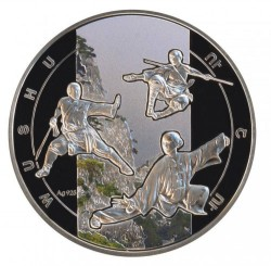 Moneda > 1000dram, 2011 - Armènia  (Combat esportiu - Wushu) - reverse