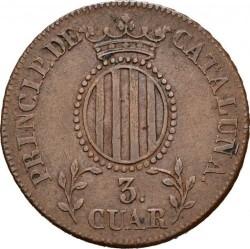 Кованица > 3quartos, 1836-1846 - Spanish provinces  - reverse