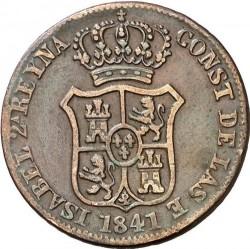 Монета > 3кварто, 1841 - Іспанські провінції  - obverse
