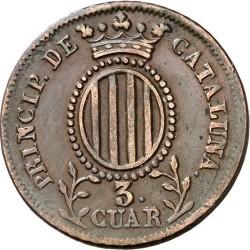 Монета > 3кварто, 1841 - Іспанські провінції  - reverse