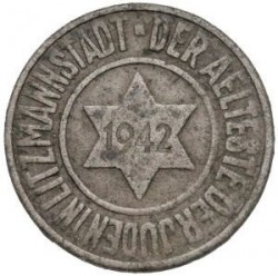 Münze > 10 Pfennig, 1942 - Polen  (Date within Star) - obverse