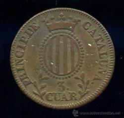 Moneda > 3quartos, 1836-1846 - Províncies espanyoles  - reverse