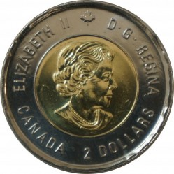 Coin > 2dollars, 2018 - Canada  (100th Anniversary - End of the First World War, Colored) - obverse