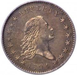 Νόμισμα > ½Δολάριο, 1794-1795 - Η.Π.Α  - obverse