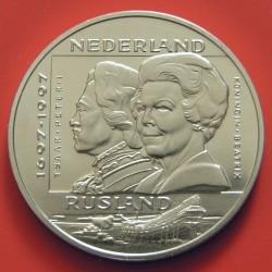 سکه > 10ECUs, 1997 - هلند  (400th Anniversary - Diplomatic Contact with Russia) - reverse