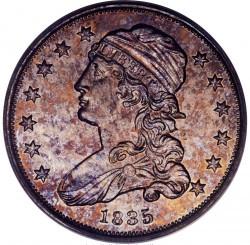 Moeda > ¼dólar, 1831-1838 - EUA  (Liberty Cap Quarter) - obverse
