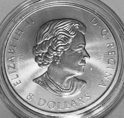 Moneta > 8dolarów, 2016 - Kanada  (Białozór) - obverse