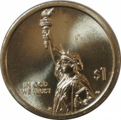 Монета > 1доллар, 2018 - США  (Американские инновации) - obverse