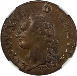 Pièce > 1sol, 1777-1791 - France  - obverse