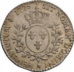 سکه > 12سول, 1775-1790 - فرانسه  - reverse