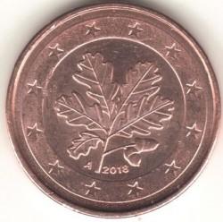 Монета > 2евроцента, 2018 - Германия  - obverse