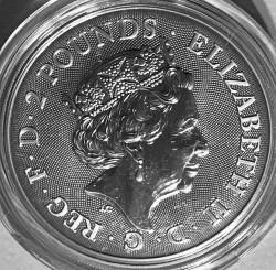 Moneta > 2funty, 2019 - Wielka Brytania  (Chiński zodiak - Rok świni) - obverse