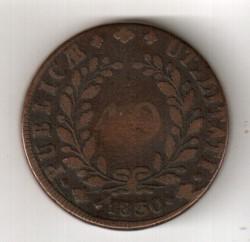 Монета > 40рейса, 1830-1833 - Португалия  - reverse